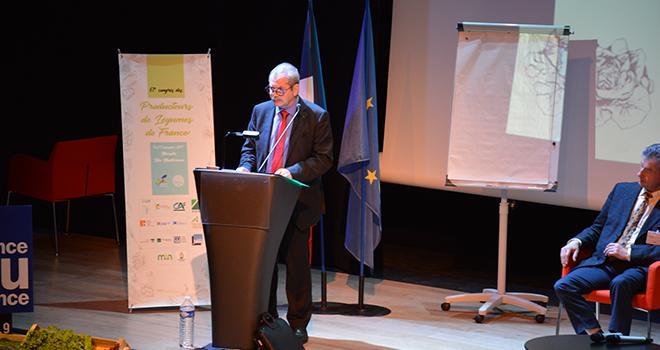 Jacques Rouchaussé, renouvelé au poste de président du CTIFL. Photo : C.Even/Pixel Image