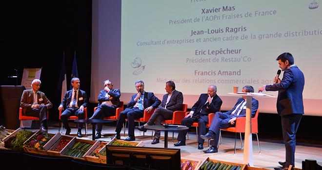 Les tables rondes du prochain congrès de Légumes de France seront animées par Philippe Gaudin, journaliste à BFM TV. Photo : C.Even/Pixel Image