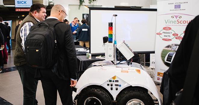Une quinzaine de constructeurs de robots agricoles seront présents lors du Fira 2019. Photo : Fira