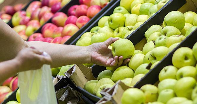 D'après l'étude du CTIFL, plus de neuf consommateurs de pomme sur dix sont satisfaits de la qualité du fruit, un taux qui a progressé depuis le dernier baromètre (87% en 2014). Photo : Stock Roman/Adobe stock