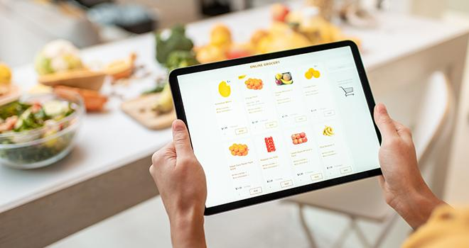 Différentes plateformes de vente et d'achat en ligne ont été recensées par la Fnab et la Confédération paysanne. Photo : rh2010/Adobe stock