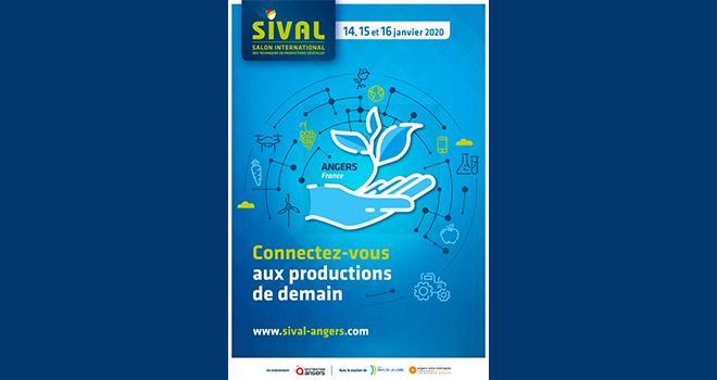 La 34e édition du Sival se tiendra du 14 au 16 janvier 2020 à Angers. CP : DR.