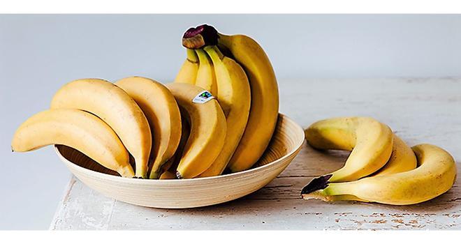 Au niveau mondial, les ventes de bananes labellisées Fairtrade/Max Havelaar ont atteint 641 922 tonnes en 2017. Photo : Max Havelaar