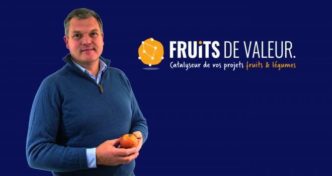 Marc-Henri Blarel vient de lancer sa société de conseil en stratégie marketing pour la filière fruits et légumes. Photo : Fruits de valeur