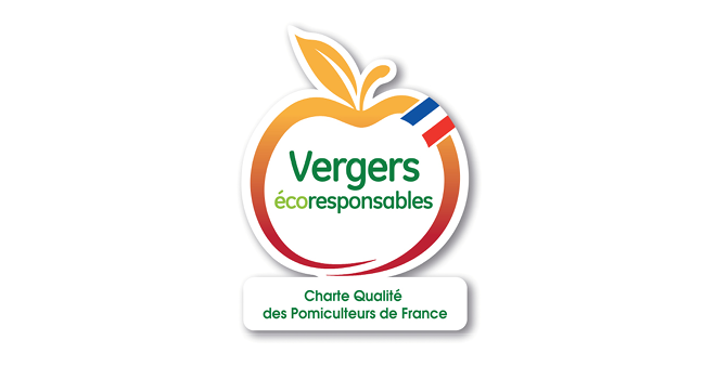 À l'occasion de ses 10 ans, le label Vergers écoresponsables évolue et se dote d'un bandeau tricolore sur son logo. Photo : ANPP