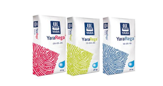 Conçu spécifiquement pour fonctionner dans tous les systèmes d'irrigation, YaraRega™ est le pre-mier NPK sous forme de granulé et entièrement soluble dans l'eau au monde, selon Yara. Photo : DR