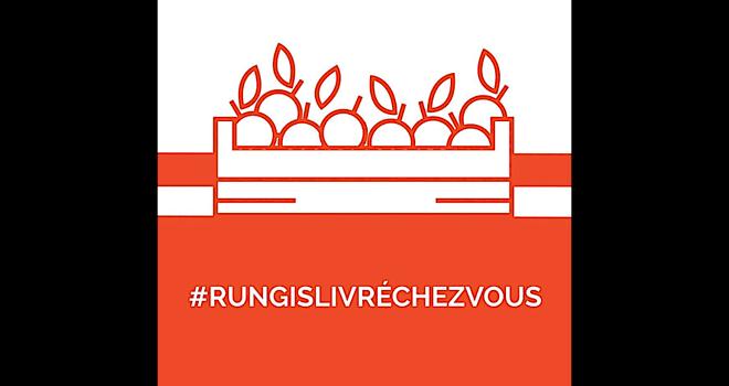 Le site « Rungis livré chez vous » permet aux consommateurs confinés de constituer leur panier de fruits, de légumes et autres produits frais, et se le faire livrer directement à domicile. Photo : Twitter marché de Rungis