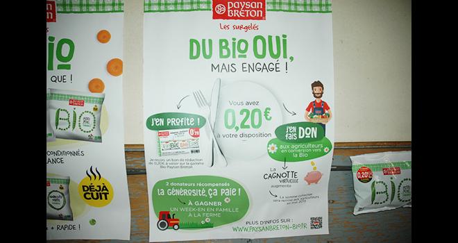 Une Gamme De Legumes Surgeles Bio Et Cuits L Arboriculture Fruitiere