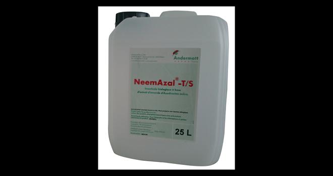 NeemAzal®-T/S est une solution à base d'azadirachtine A, matière active issue des amandes du margousier. Photo : Andermatt France