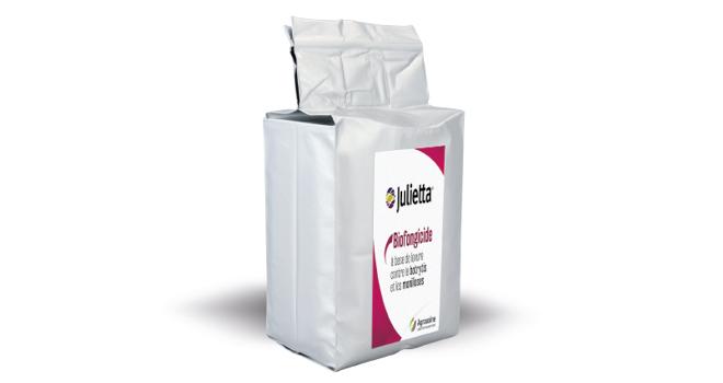 Le nouveau biofongidie d'Agrauxine est utilisable en agriculture conventionnelle, biologique et zéro résidu. Photo : Agrauxine