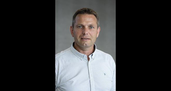 Christophe Congues, 47 ans, est producteur de maïs semences, de kiwi et de tabac à Moumour (64). Photo : Euralis