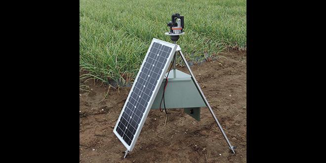 Le dispositif développé s'appuiera sur un OAD associant des capteurs de spores  (photo) à des tests de détection et de quantification moléculaire des trois champignons.