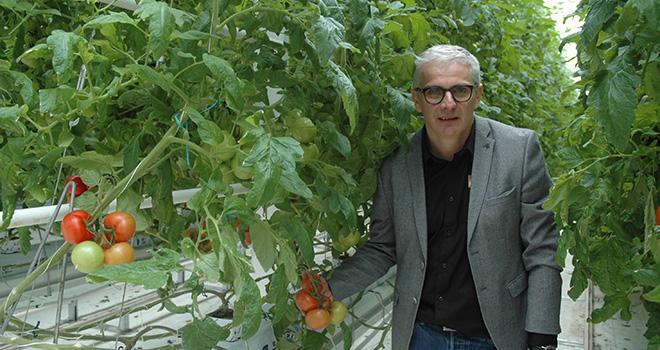 Christophe Rousse, président de Solarenn. Photo : D. Bodiou/Pixel image