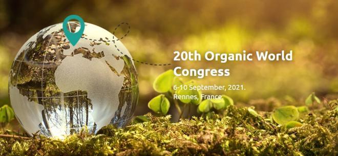 Le vingtième Congrès mondial de la bio se tiendra à Rennes en septembre 2021. CP : Organic World Congress