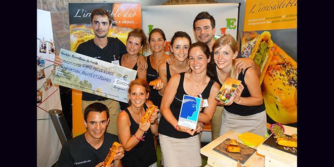 Pour la finale d'Ecotrophelia 2015, le jury de l'innovation F&L mené par Interfel a récompensé une équipe de l'Isara-Lyon.