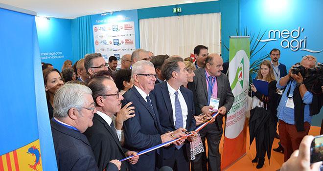 Inauguration du Salon Med'Agri le 16 octobre 2018. Photo : C. Even/Pixel Image