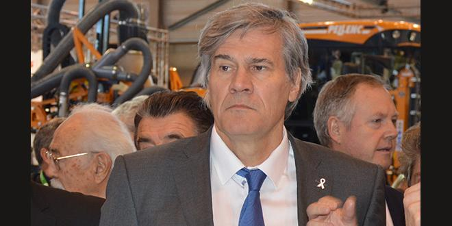 Hier matin, le ministre de l'Agriculture Stéphane Le Foll avait fait le déplacement pour l'inauguration du salon Sitevi à Montpellier.