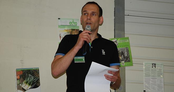 Kees Boersma, directeur général de Bejo France, a souligné l'importance du développement sur la France, lors des 30 ans de Bejo Production. Photo : O.Leveque/Pixel Image