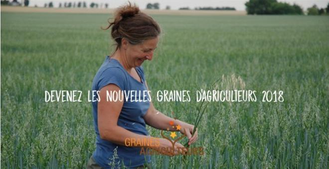 Concours Graines d'agriculteurs : Plus que 6 jours pour vous inscrire.