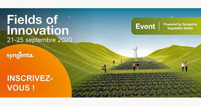 """Cette année, les journées """"Fields of Innovation"""" de Syngenta se dérouleront en mode virtuel pour présenter les nouvelles variétés de légumes. Producteurs et acteurs de la filière pourront se connecter avec les experts internationaux Syngenta grâce à des images 3D, des vidéos, des informations techniques et des mises en relation directes."""