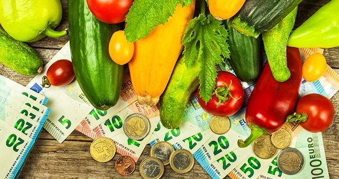Alors que les revenus agricoles se sont améliorés en 2017, les filières fruits et légumes, elles, enregistrent un recul de leur revenu. Photo : martinfredy/Fotolia