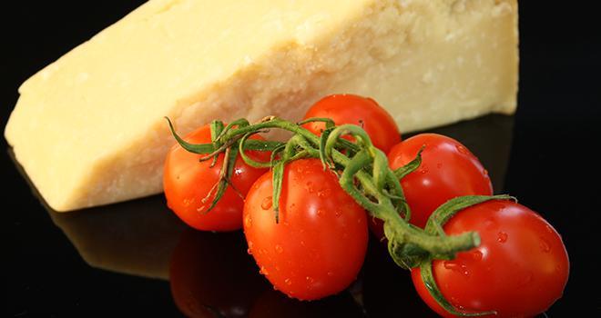 """Les fromages et produits à base de tomate font partie des produits alimentaires les plus contrefaits au détriment de la production """"made in Italy"""". Photo : ROBERTA ZANLUCCHI"""