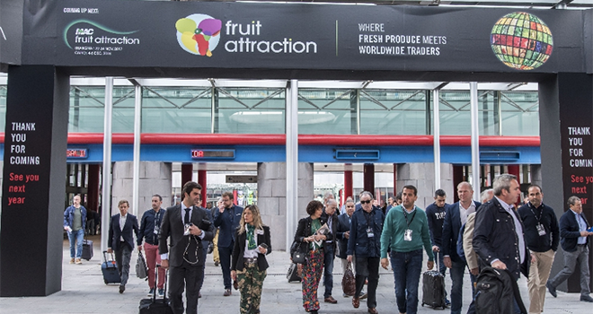 70 000 visiteurs professionnels sont attendus à la 10e édition de Fruit Attraction à Madrid. Photo : DR