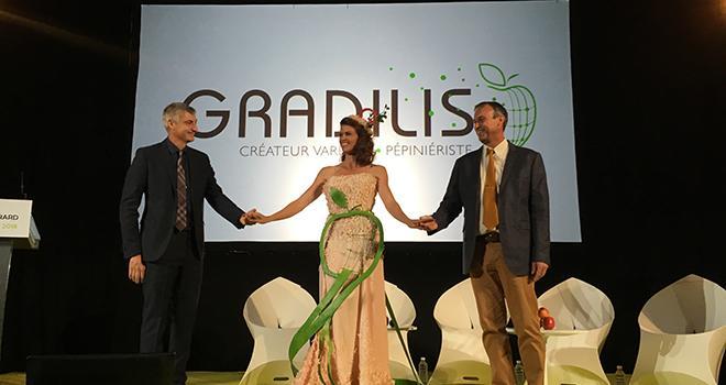 Olivier et Alexandre Grard ont dévoilé la nouvelle identité des pépinières Grard: Gradilis. Photo : A.Bressolier/Pixel Image