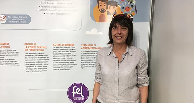 Sabine Alary espère que la certification issue de la nouvelle charte sera suffisamment reconnue d'ici deux ans pour la présenter aux centrales d'achats étrangères. Photo : B.Bosi/Pixel image