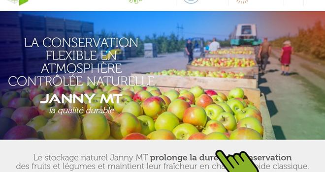Janny MT, le fabricant et distributeur de modules de conservation en atmosphère contrôlée vient de mettre à jour son site Internet. Photo : DR