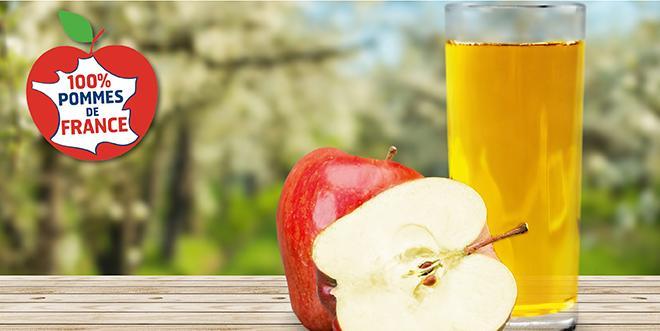 Après le logo créé en 2010, le jus 100% Pommes de France a désormais sa charte d'engagement.