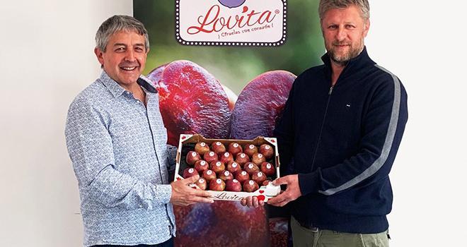 L'entreprise espagnole Fruites font rentre dans le Club Lovita®. Photo DR