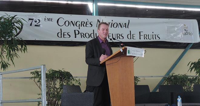 En janvier 2018, Luc Barbier annonçait qu'il quitterait son poste de président de la FNPF au Congrès de 2019. Photo : B.Bosi/Pixel Image