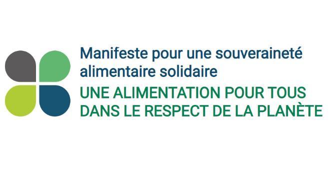 Dans son manifeste, la FNSEA liste ses solutions pour assurer la souveraineté alimentaire de la France. CP : FNSEA