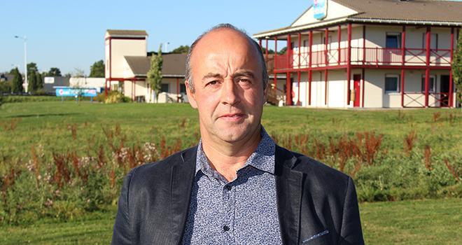 Marc Keranguéven est le nouveau président de la Sica. Photo : Agriculteurs de Bretagne