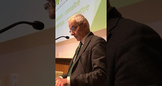 Bertrand Hervieu, sociologue spécialiste des questions rurales et agricoles, et président de l'Académie d'agriculture. Photo : AAF
