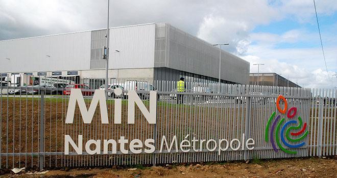 La construction du nouveau MiN de Nantes a nécessité deux ans et demi de travaux, 1 million d'heures de travail et mobilisé 120 entreprise. Photo : O.Lévêque/Pixel6TM