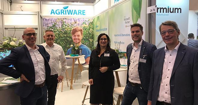 L'équipe de Mprise Agriware sera présente au Sival 2019 pour présenter son logiciel destiné aux horticulteurs. Photo : Mprise Agriware