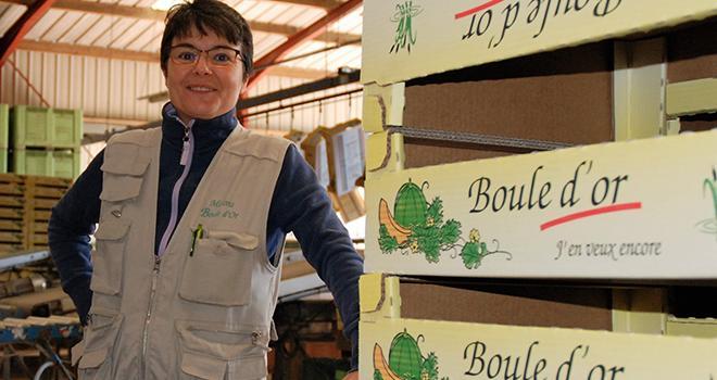 Myriam Martineau a été élue présidente de l'Association interprofessionnelle melon lors du conseil d'administration qui s'est tenu le 18 mai 2020. Photo : O.Lévêque/Pixel6TM