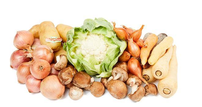 La nouvelle gamme de légumes « Automne » proposée par la Sica a été présentée lors de la 3e édition de l'Amazon Academy le 6 novembre à Paris.  © SICA / Emmanuel Pain