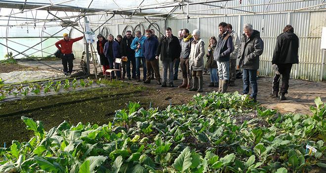 La fermeture de la PAIS, plateforme d'expérimentation 100% bio dédiée aux légumes et aux grandes cultures, située près de Morlaix (29), interviendra le 31 décembre 2020. Photo : IBB