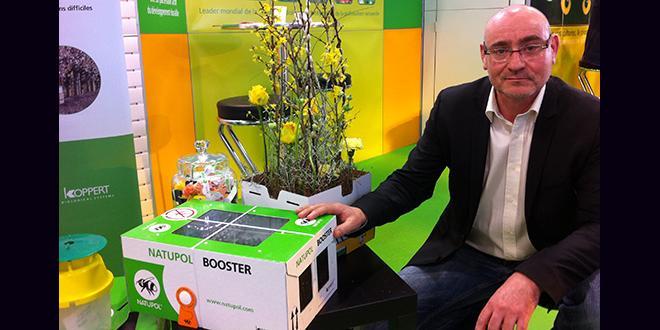 Frédéric Favrot, le nouveau directeur général de Koppert France depuis un an, nous parle des ambitions de la société et de la notion de biocontrôle, au Sival 2016 à Angers.