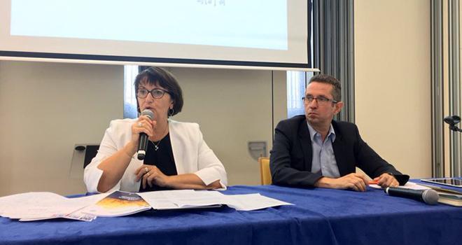 Christiane Lambert et Jérôme Despey restent respectivement présidente et secrétaire général de la FNSEA. Photo : FNSEA/Twitter