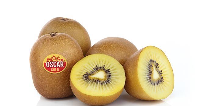Les premiers kiwis jaunes Oscar Gold de la nouvelle récolte de l'hémisphère Sud sont de retour en magasins indique Primland. Photo : Primland