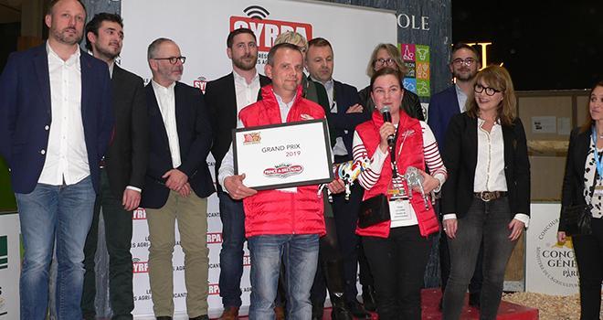 Prince de Bretagne a été sacrée grand prix 2019 lors des Trophées des Syrpa'wards, concours qui récompense les meilleures initiatives de communication sur le Salon international de l'agriculture. Photo : Claude Richard