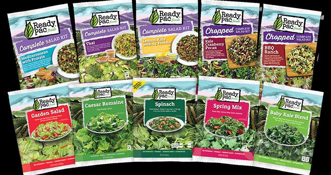 Grâce à l'acquisition en février 2017 de la société américaine Ready Pac Foods, spécialiste US des salades en portion, les ventes de Bonduelle ont bondi de 38,5% au premier semestre de son exercice 2017-2018. Photo : DR