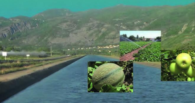 30 ans de données des stations météorologiques sont compilés dans le Référentiel des besoins en eau d'irrigation des productions agricoles de la région Paca.