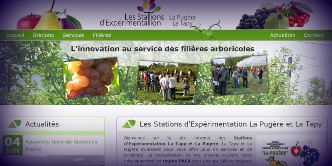 Le site Internet permet de découvrir les fiches techniques mais aussi les projets sur lesquels travaillent les deux stations.