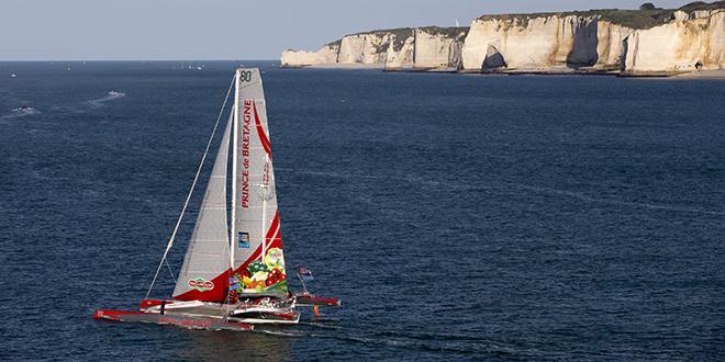 Le Maxi80 Prince de Bretagne sera au départ de la Transat Jacques Vabre le 5 novembre.