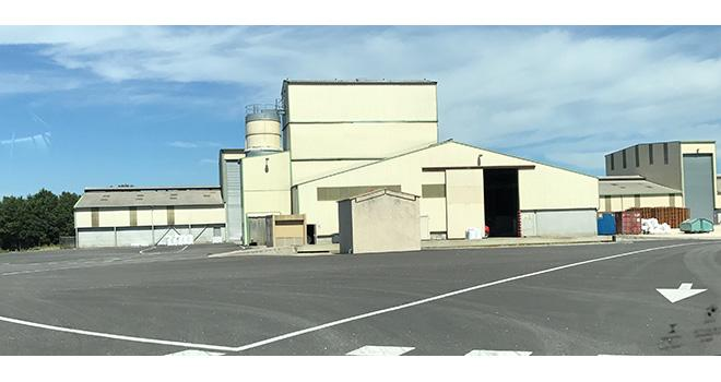 """Le nouveau site """"Organic Production"""" à Donzère. Photo : groupe Frayssinet"""